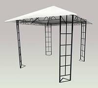 Павильон садовый 3х3 мера железо+полиэстер