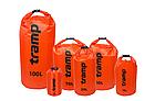Гермомешок Tramp PVC Diamond Rip-Stop оранжевый 15 л. гермомешок. водонепроницаемая упаковка, фото 2