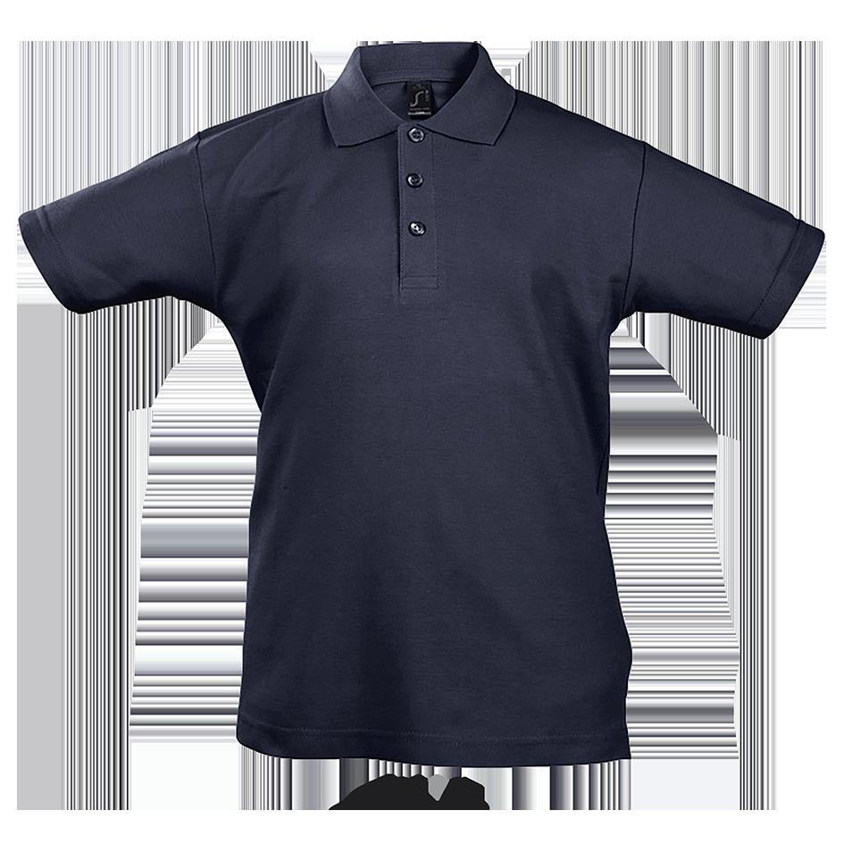 Детская рубашка поло т.синий, SOL'S SUMMER II KIDS, размеры от 4 до 12 лет, плотность 170 г/м2