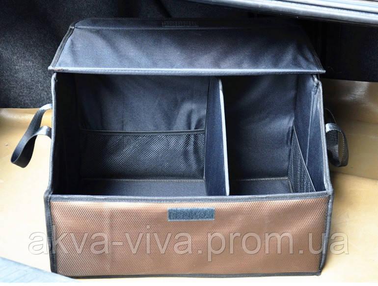 Органайзер с крышкой в багажник автомобиля (АО-1007-8)