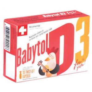 Витамины для детей Babytol D3 (30капс.,Швейцария)
