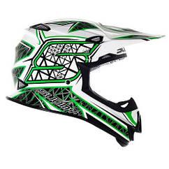 Мотошлем Suomy Casco Mr Jump S-Line XXL Зеленый KSMJ0017.7, КОД: 256856