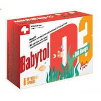 Витамины для детей Babytol (Бебитол) D3+DHA Omega капсулы(30шт.,Швейцария)