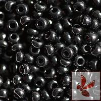 23980 бисер №10 Preciosa Чехия (Чёрный) от 1 грамма