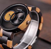 Часы деревянные Bobo Bird W-R10-1 Original унисекс