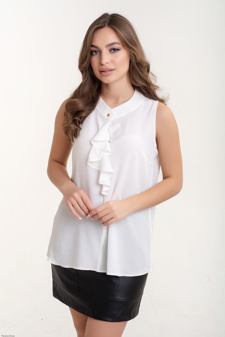 Блузка K&ML 520 белый 48