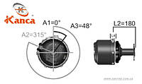 Энергоаккумулятор 9/16 0024201924 MERCEDES-BENZ 814 с фланцем 0054200224 Турция