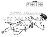 Гидравлические элементы оперативной памяти, основной стрелы, (дис 10968, с защитным клапаном), экскаватор-Е1-5, фото 1