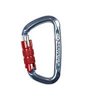 Карабин алюминиевый Climbing Technology D-Shape TG titanium ( 2C47700 YQB )