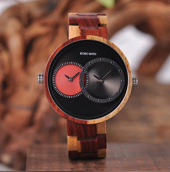 Часы деревянные Bobo Bird W-R10-2 Original унисекс