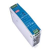 Блок питания импульсный Mean Well на DIN-рейку 76,8W 24V (IP20, 3,2A) PRO