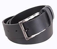 Мужской кожаный ремень Dovhani LD666-88 115-125 см Черный, фото 1