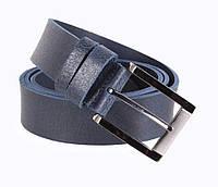 Мужской кожаный ремень Dovhani SP999-77 115-125 см Синий, фото 1