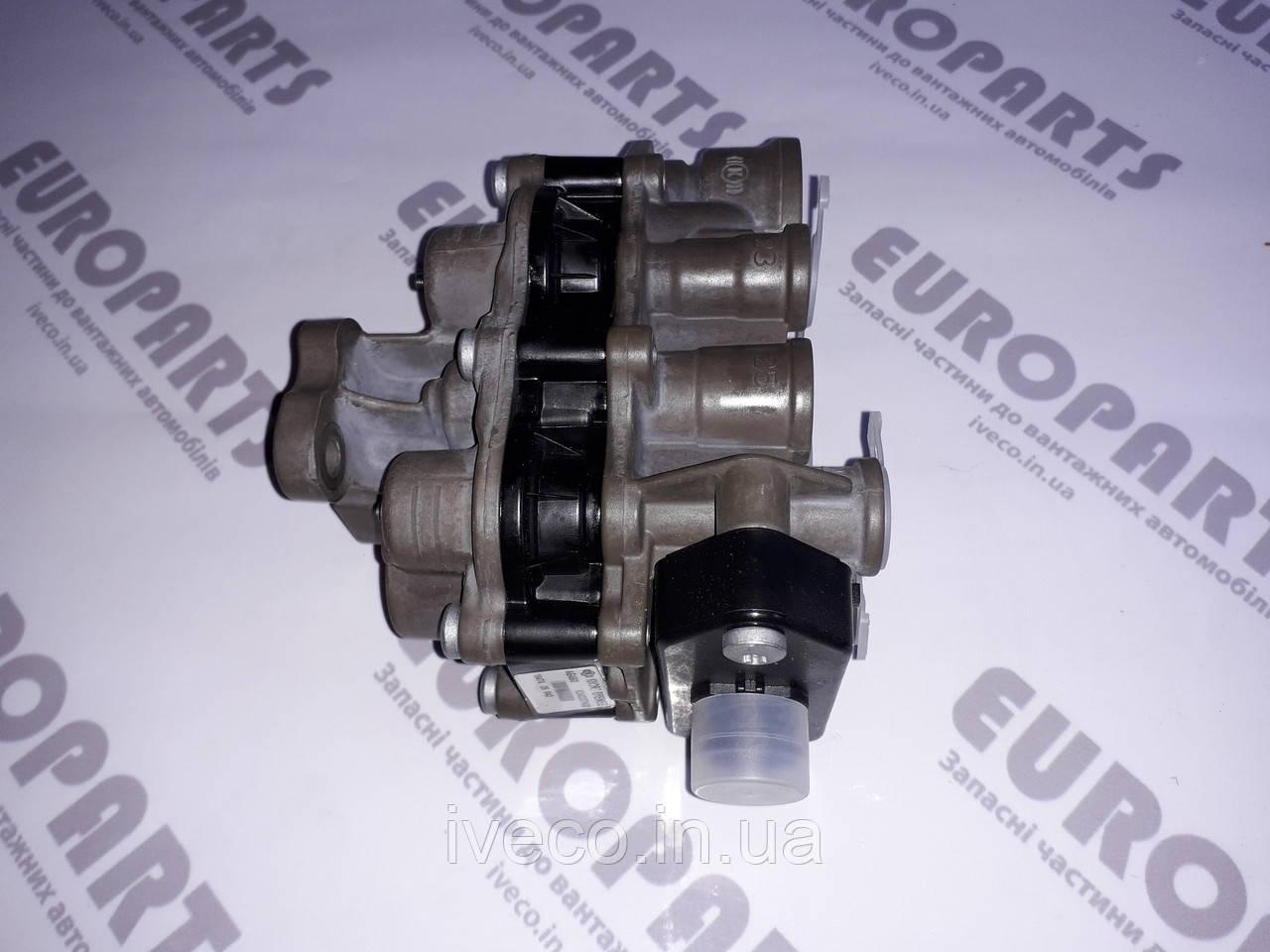 Кран защитный четырехконтурный Iveco Ивеко Cursor Trakker Stralis 42553848 42553849 42535024 AE4502 AE4516