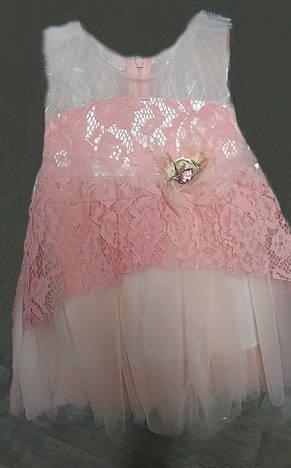 4a5e3172578 Детское нарядное платье на 1-2 годика рост 86-104  продажа