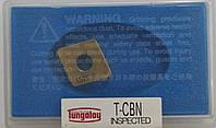 CNGA120412 Эльбор  (Кубический нитрид бора) Твердосплавная пластина для токарного резца Tungaloy