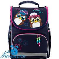 Шкільний рюкзак для дівчинки Kite Owls К19-501S-2 (1-4 клас), фото 1