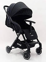"Детская прогулочная коляска ""YUYO"" T3101F Black"