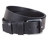 Мужской кожаный ремень Dovhani SP999-266 115-125 см Черный, фото 1