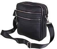 Мужская кожаная сумка Dovhani Dov-201289 Черная