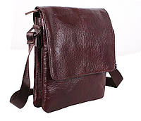 Мужская кожаная сумка Dovhani MESS8138-23 Коричневая 27 х 21.5 х 6см, фото 1
