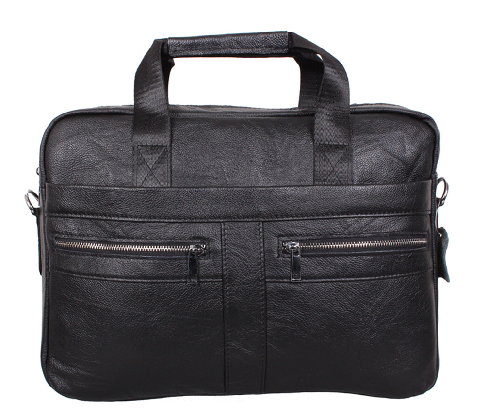 Мужская кожаная сумка Dovhani Dov-1120-175 Черная