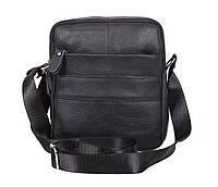 Мужская кожаная сумка Dovhani Dov-3921-18 Черная, фото 1