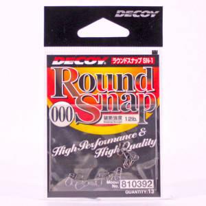 Застёжка Decoy Round Snap №000 12lb (13 шт.)