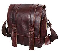 Мужская кожаная сумка Dovhani PRE1540-123 Коричневая, фото 1