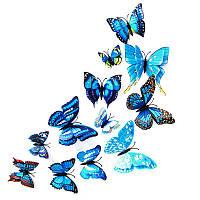 Интерьерные Бабочки 3D, 12 шт., фото 1