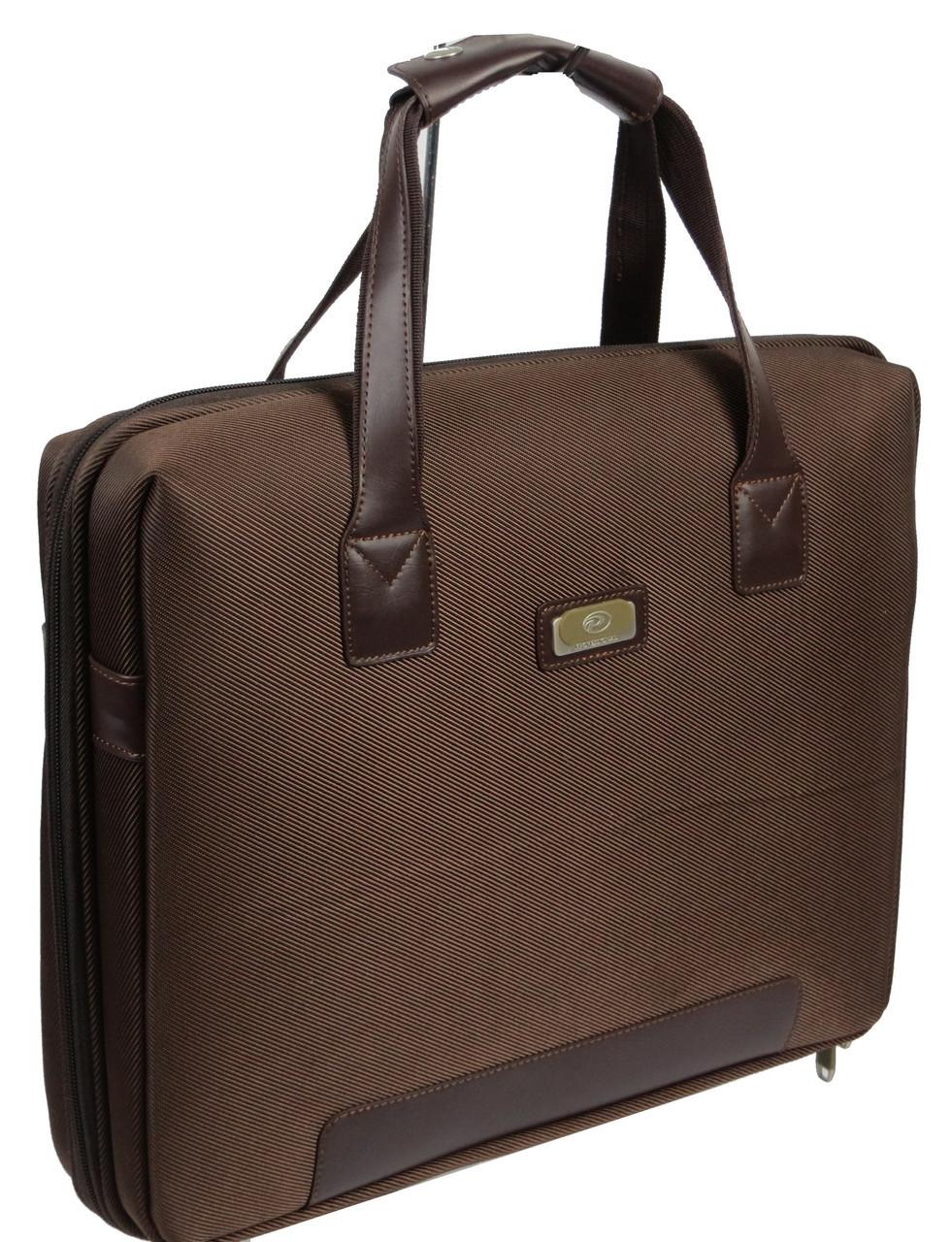"""Сумка-кейс для ноутбука 14,1"""", Professional S923.23 коричневая"""