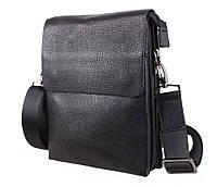 Мужская кожаная сумка Dovhani DL5129-468 Черная, фото 1