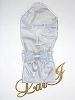 """Летний конверт-одеяло """"Жемчужный"""", белый"""