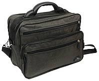 Тканевый сумкой портфель Wallaby 2653 хаки, фото 1