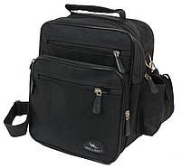 Мужская небольшая сумка  Wallaby 2665 чёрный, фото 1
