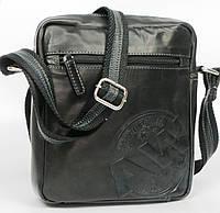 Кожаная сумка для документов Always Wild 242WS черная, фото 1