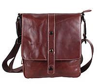 Мужская кожаная сумка Dovhani BR8006006 Коричневая, фото 1