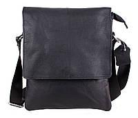 Мужская кожаная сумка Dovhani MESS8138-13 Черный, фото 1