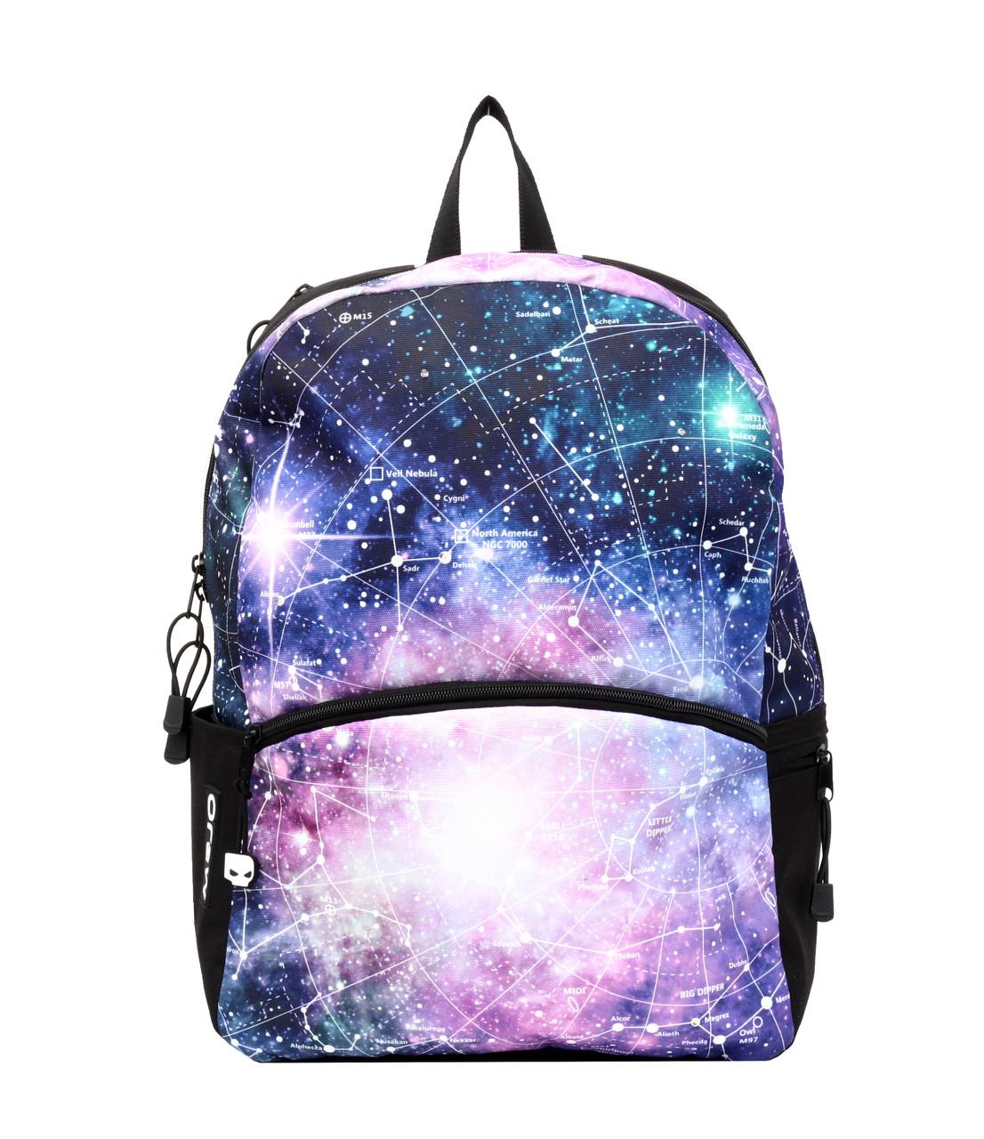 Рюкзак MOJO ГАЛАКТИКА 2016 (колір мульті з LED cвітлом)