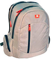 """Рюкзак для ноутбука 15,6"""" PASO, 21L, 13-B30 серый"""