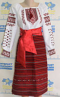 """Жіночий вишитий національний костюм """"Ярославна"""""""
