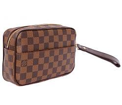 Клатч мужской кожаный L.V. 30020220 Коричневый, фото 3