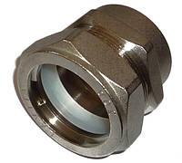 Муфта LAVITA труба-ВР (мама) V/S 40x1 1/2 (F) никель