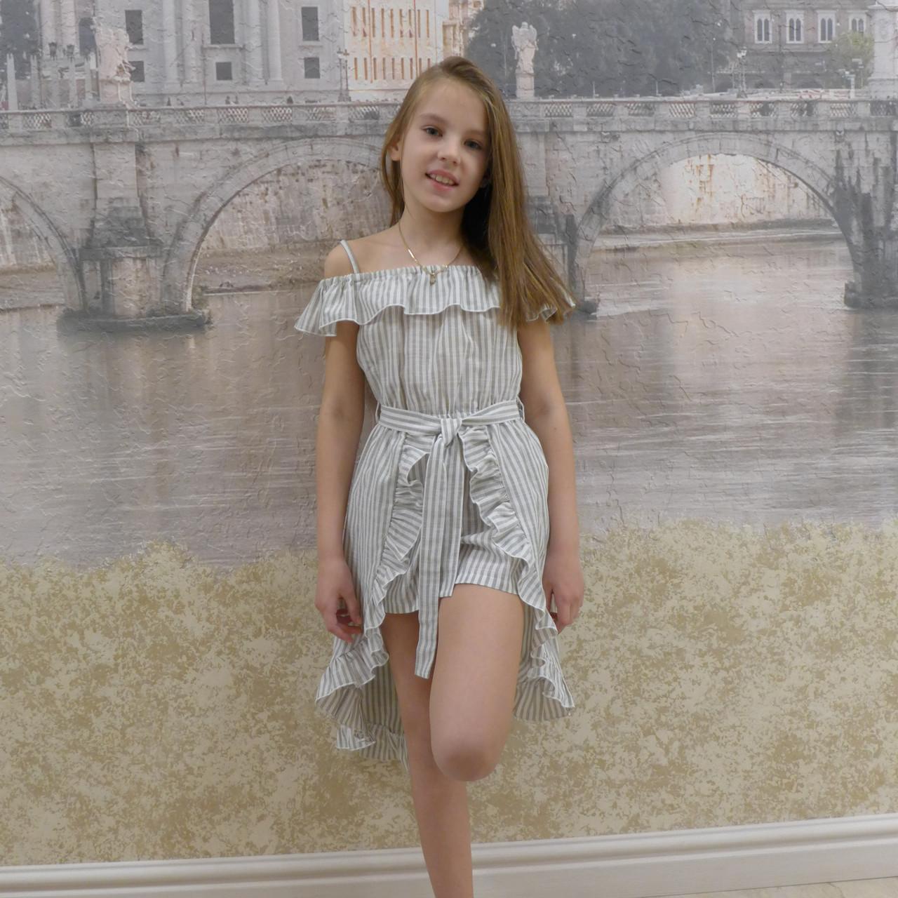 Платье-шорты (19 фисташка)