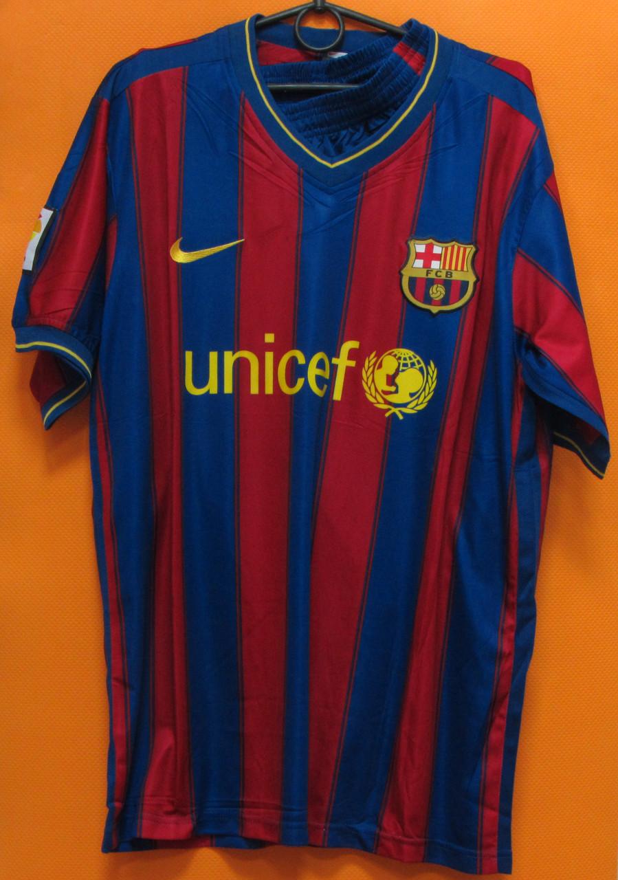 Футболка Barcelona синегранатовая безномерная