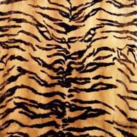 Пластина ласка принт тигр малайский 115*60 см Италия