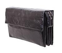 Клатч мужской кожаный Dovhani BLACK004-10 Черный, фото 1
