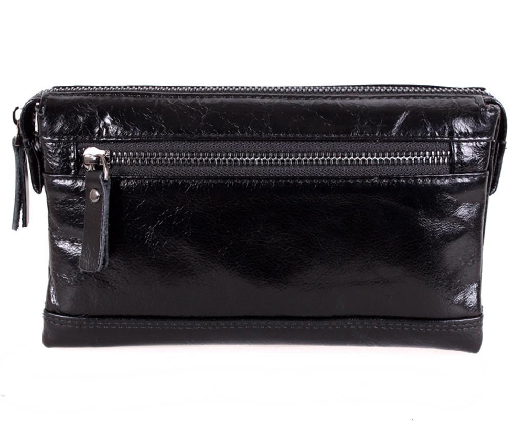 Клатч мужской кожаный Dovhani BLACK005-187 Черный