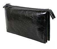 Клатч мужской кожаный Dovhani BLACK006-154 Черный, фото 1