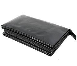 Клатч мужской кожаный Dovhani BLACK006-154 Черный, фото 3